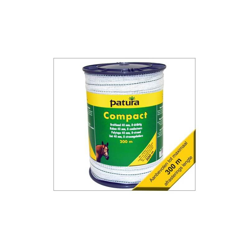 Compact afrastering lint 40mm Patura