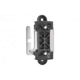 Lint hoek isolator met verbindingsplaat, per 3 stuks