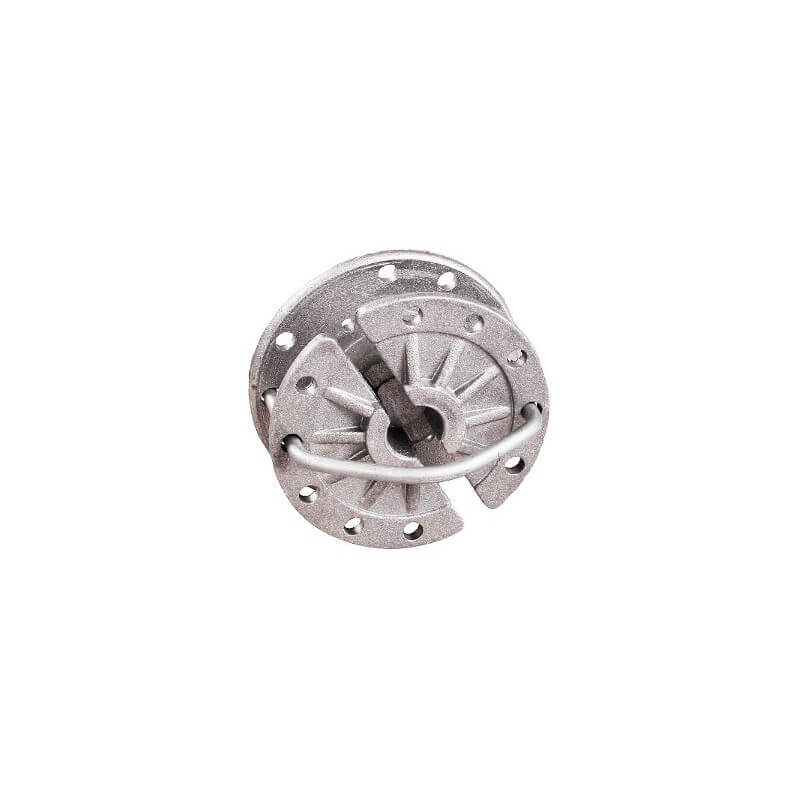 aluminium, Schrikdraad spanner roterend