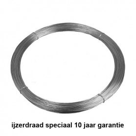 Staaldraad ijzerdraad speciaal ø 2,5 mm