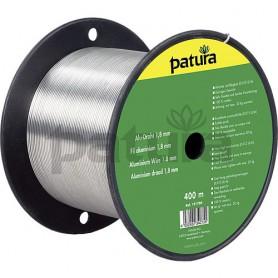 Aluminium draad ø 2,0 mm, 400 m.