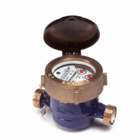 """Watermeter, type ALFA-SJ-LFC 1/2"""" of 3/4"""""""