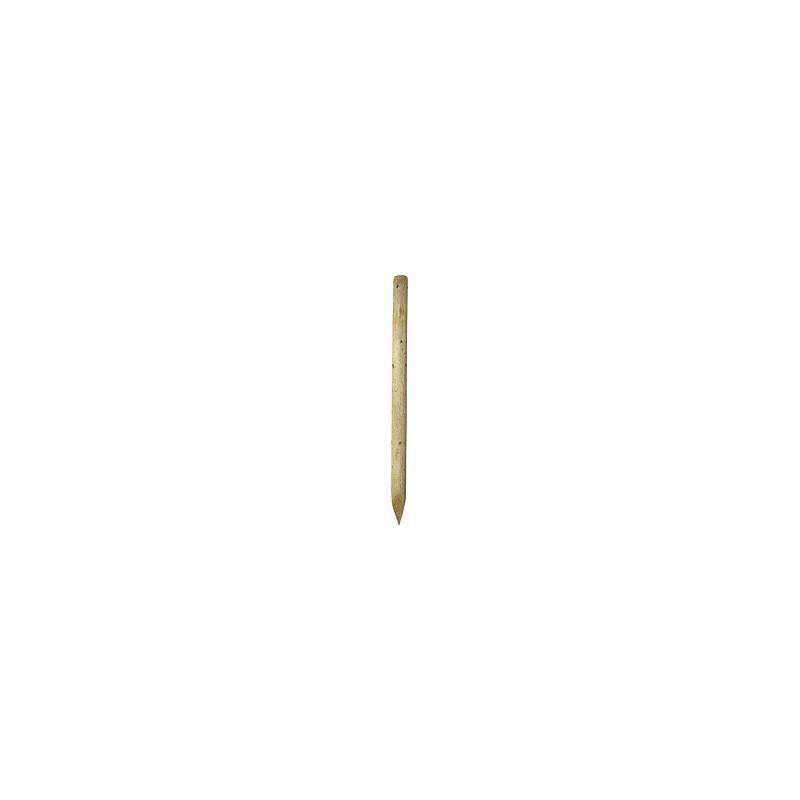 Houten paal - diameter 7-8 cm