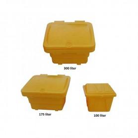 Opslagsysteem voor strooizout of voer 100, 150 of 350L