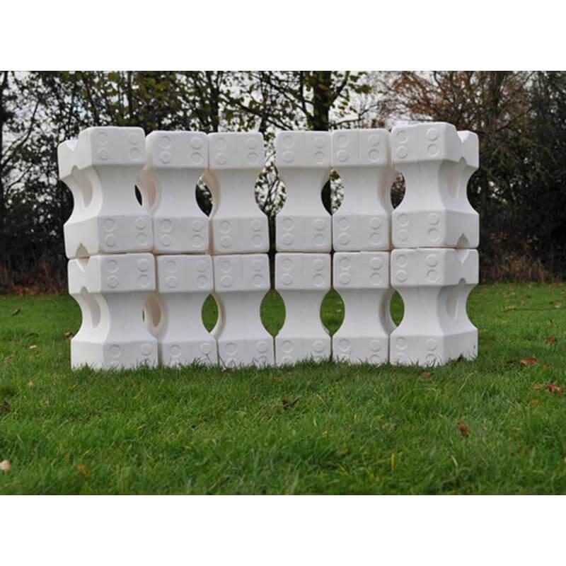 Grote set cavaletti blokken