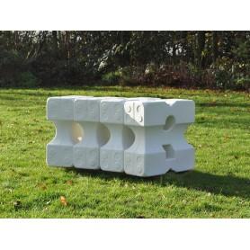 Set 6 cavaletti-blokken groot