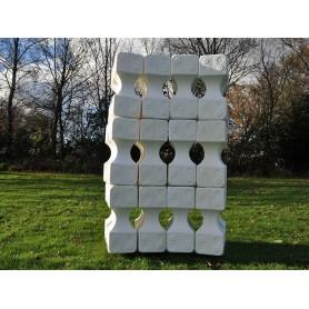 Set 12 cavaletti-blokken groot