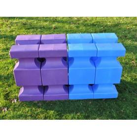 Set 4 cavaletti-block Maxi