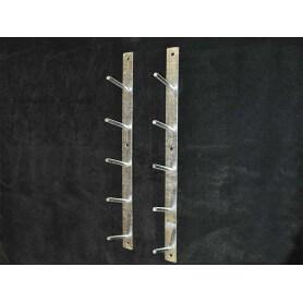 Set ophangbeugels voor 5 hindernisbalken