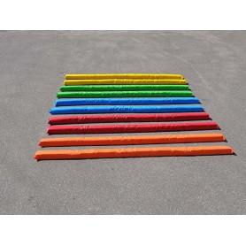 Set van 10 zachte hindernisbalken