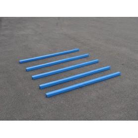 Set van 5 zachte balken in geel of blauw