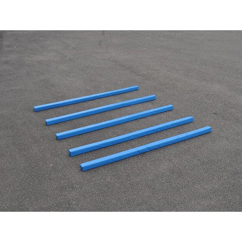 Set van 5 zachte de paardentrainingsmethode balken (Geel of Blauw)