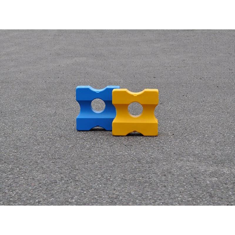 Cavaletti blok Small voor blauw en gele trainingsmethode