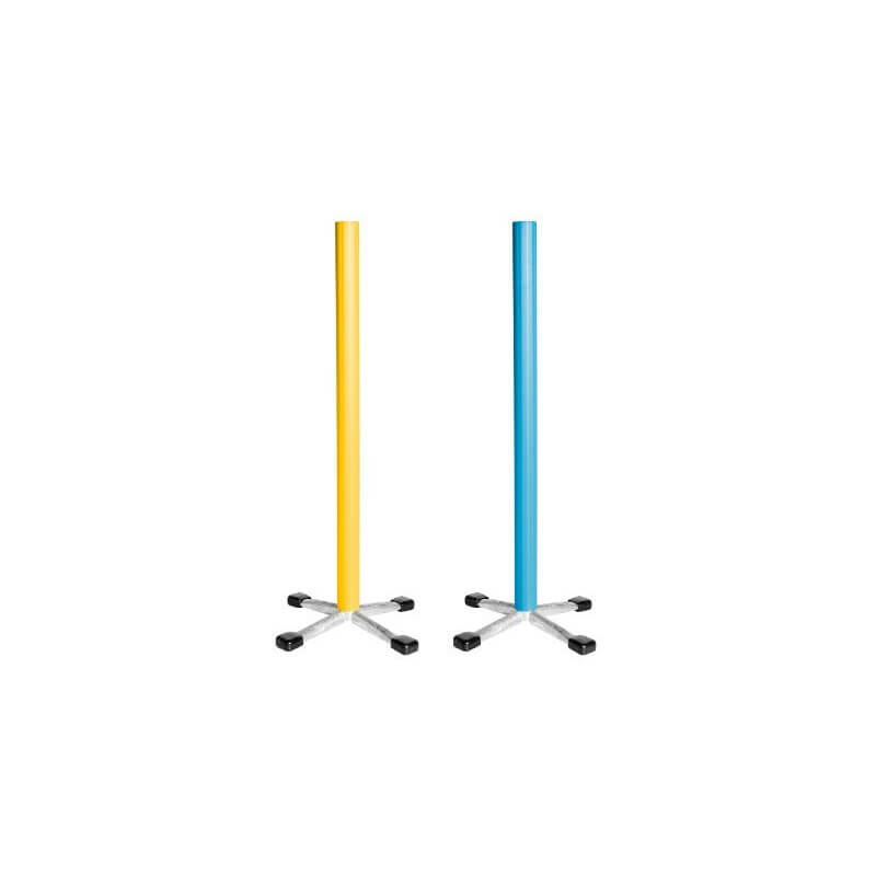 Springstaander blauw of geel