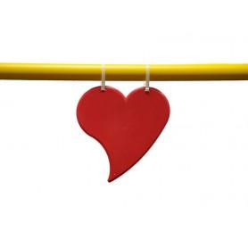 Hindernis decoratie hart, set van 3