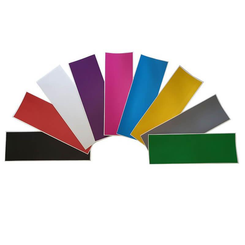 Alle kleuren stickers voor springbalken