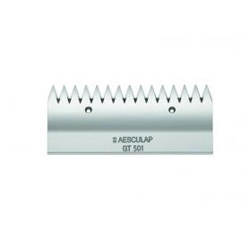 Aesculap scheermes GT501 (15 tanden) bovenmes voor runderen en paarden, standaard scheerbeurt