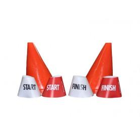Menkegelhoezen Start en Finish