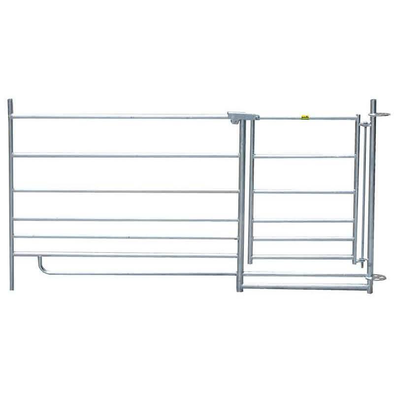 Koppelhek met poort 1,83m, h 0,92