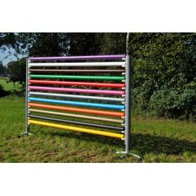 Springbalk 3 meter, kunststof met houten kern