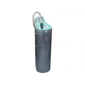 Staalpaal voor de buisventiel drinkbakken