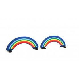 Regenboog, set voor hindernissen