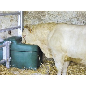 Thermo-Qell drinkbak geschikt voor scapen,geiten,koeien en paarden