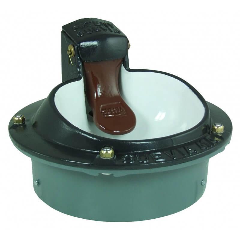 Verwarmd lepel-drinkbak model 41a